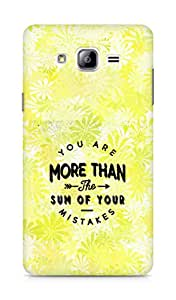 AMEZ you are more than the sum of your mistakes Back Cover For Samsung Galaxy ON7