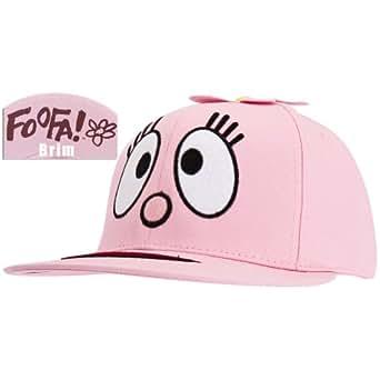 Yo Gabba Gabba - Womens Yo Gabba Gabba - Foofa Ladies Snap Back Cap Light Pink