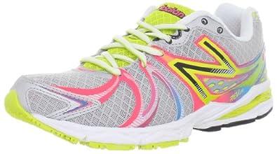 (快抢)新百伦New Balance女款高端超轻缓震跑步鞋W870 Alpha Running Shoe 银$58.98