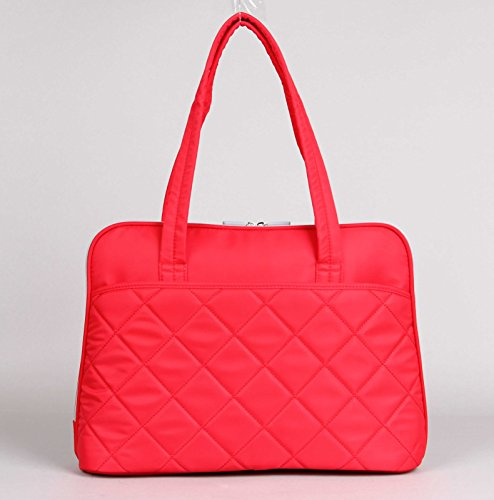"Kingsons Ladies in Fashion Series 15.4"" Red Waterproof Laptop Bag"