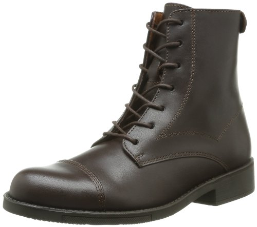 Aigle ISARO W BLACK P2999, Stivaletti donna, Marrone (Dark Brown), 37.5
