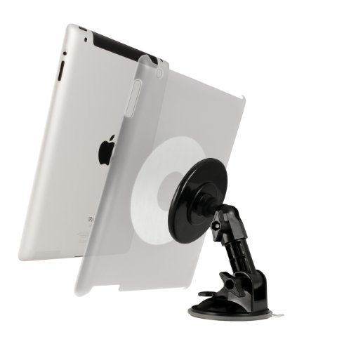 iMagnet Cradle-less Magnetic Tablet Mount for iPad 2 and 3, iPad Mini, Galaxy Tab 10 and 7.7, Tablet Holder with Quick-snap Technology