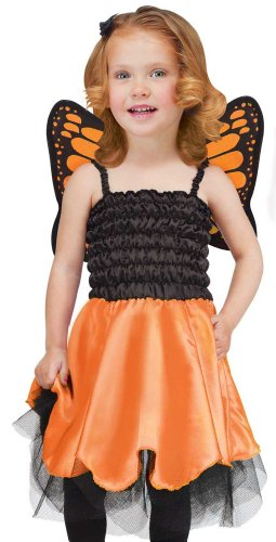 Fun World Kids Toddler Girls Fairy Butterfly Halloween Costume