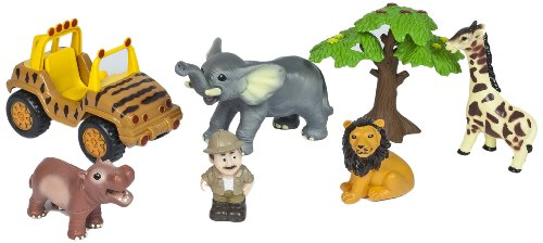 World Animals Tom Adventure Baby Wildlife Box Set - 1