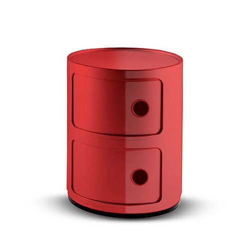 Kartell 496610 Container Componibili rot