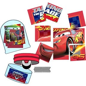 Disney Cars Rolling Stampers - 4 pack