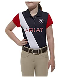 Ariat Girls' Girl's Taryn Team Polo