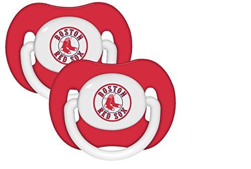 MLB 2 Pack Baby Pacifiers MLB Team: Boston Red Sox - 1