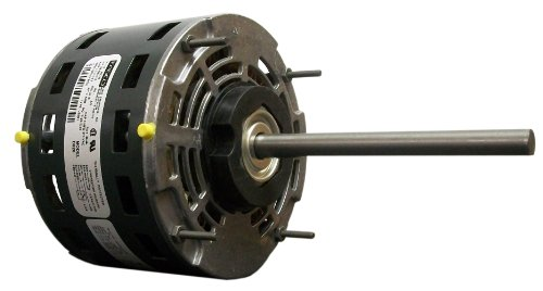 Fasco D928 5.6-Inch Direct Drive Blower Motor, 1/6 Hp, 115 Volts, 1075 Rpm, 3 Speed, 2.7 Amps, Oao Enclosure, Reversible Rotation, Sleeve Bearing