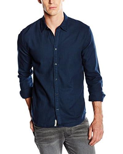 Pepe Jeans London Hemd Heron dunkelblau