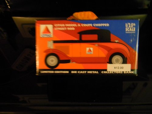 "Citgo Model ""A"" Coupe Chopped Street Rod Diecast - 1"