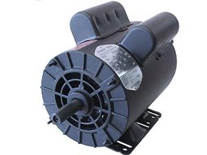 5HP 3450RPM 56FR 1PH OPD CMO5256 Power Tech Air Compressor Motor from Power Tech Electric Motor