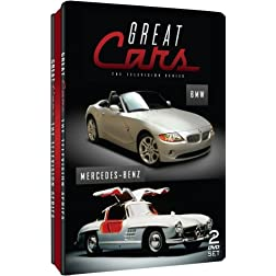 Great Cars - Television Series - BMW & Mercedes-Benz - Embossed Slim Tin
