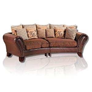 Xxl sofa kolonialstil  Best Selling Big Sofa Kolonialstil: ROLLER Big Sofa YORK
