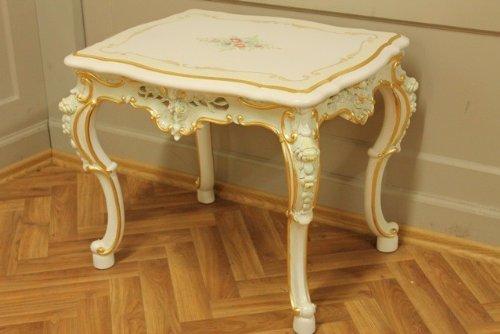 Tavolino basso da 64x 50x 52cm stile antico vp0806/02acd