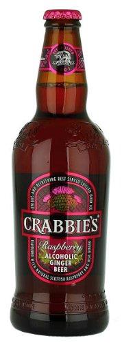 Crabbies Raspberry Alcoholic Ginger Beer - Crabbies - 500ml - 4.00%