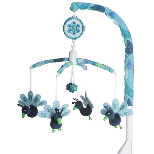 Peacock Baby Bedding 9715 front
