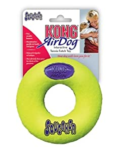 """Brand New THE KONG COMPANY - AIR KONG SQUEAKER DONUT (SMALL) """"DOG PRODUCTS - DOG TOYS - ALL OTHER"""""""
