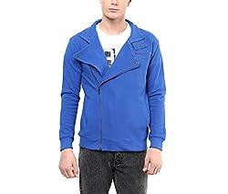 Hypernation Royal Blue Color Causal Jacket For Men