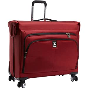 Delsey Helium Ultimate Garment Bag Spinner Trolley - Burgundy