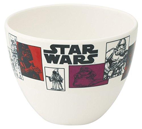 Japan Disney Official Star Wars the Force Awakens - Darth Vader Stormtrooper Jabba Hutt White Red Japanese Ceramic Tea Bowl Matcha Chawan Ceremony Soup Rice Pottery Porcelain Dish Dishware (Yoda Bowl)