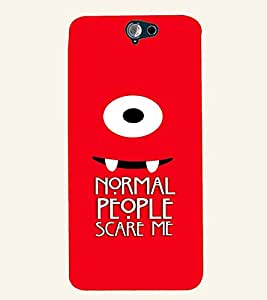 PRINTVISA Quotes Sarcastic Case Cover for HTC One A9