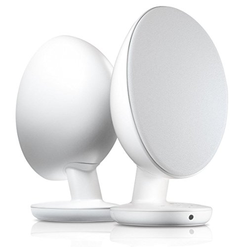 KEF EGG Digital Hi-Fi Speaker System - Pure White (Pair)