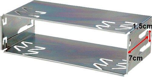 Einbauschacht-fr-KENWOOD-2004-2010-JVC-ab-2011-Autoradios-Einbaurahmen-Radiohalterung-aus-Metal