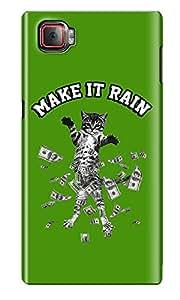 The Fappy Store make-it-rain Plastic Back Cover for Lenovo K920