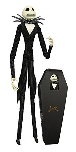 Diamond Select Nightmare Before Christmas Jack Skellington Coffin Action Figure