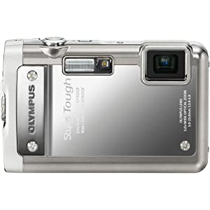 Olympus Stylus Tough 8010 14MP Digital Camera with 5x Wide Angle Zoom and 2.7 inch LCD (Silver)