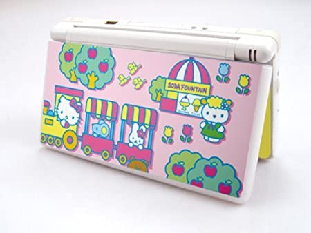 HELLO KITTY-PINK Decorative Protector Skin Decal Sticker for Nintendo DS Lite