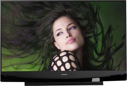 Mitsubishi WD-73737 73-Inch 1080p 120Hz Home Theater DLP HDTV (2009 Model) (Mitsubishi Wd73737 compare prices)