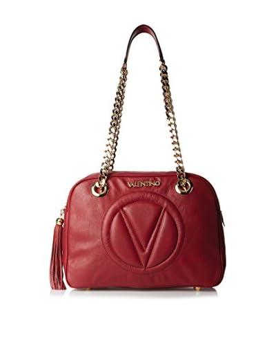 Valentino Bags by Mario Valentino Women's Madonna Shoulder Bag, Marsala/Ego