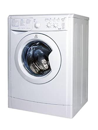 Indesit IWDC 6125 (DE) Waschtrockner / BBA / 1.12 kWh / 1200 U/min - B / 44 Liter / 6 kg Waschen / 5 kg Trocknen / LED / Klartext / weiß