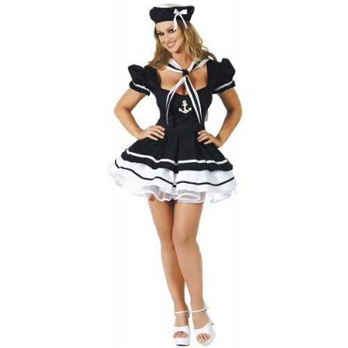 Sailor Sweetie Costume - Medium/Large - Dress Size 6-10