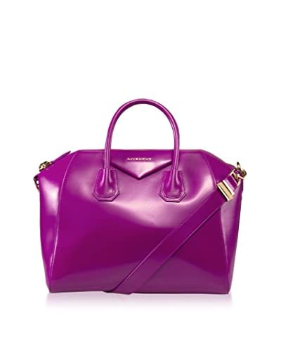 Givenchy Women's Antigona Satchel Bag, Fuchsia, Medium