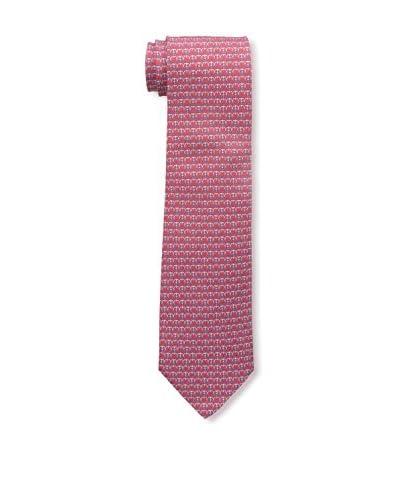 Salvatore Ferragamo Men's Printed Tie, Rosa