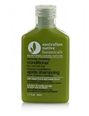 Australian Native Botanicals Hair Care Trial Travel Everyday, Nourishing Conditioner for Normal Hair 50ml