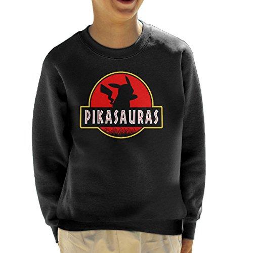 Pikachu-Pokemon-Jurassic-Park-Pikasaurus-Kids-Sweatshirt