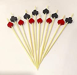 Card Party Toothpicks - 12PC