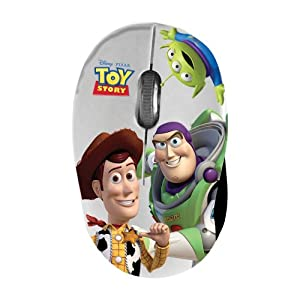 Disney MM295 'Toy Story' Mini Mouse USB 2.0 1,000 DPI Extendible Cable