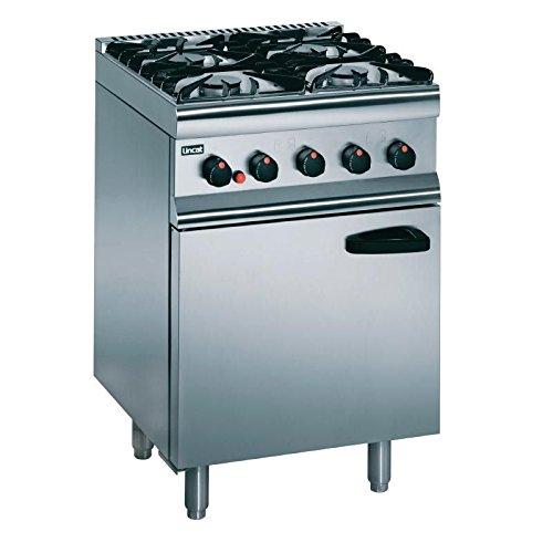 Heavy Duty 23.8kW Propane Gas 4 Burner Range Commercial Kitchen Restaurant Cafe