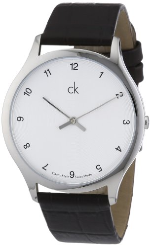 Calvin Klein Gents Watch Classic Gent Leather K2621126