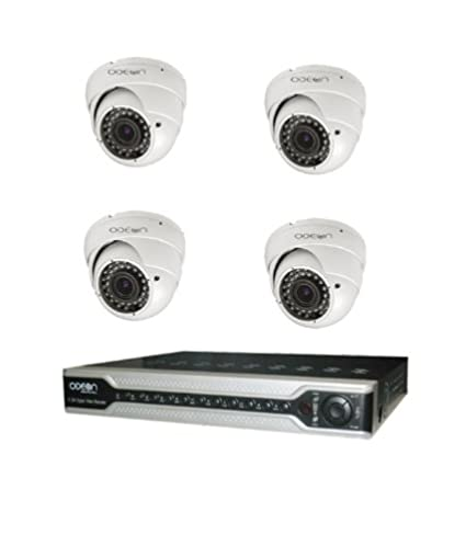 Odeon 4 Channel DVR + 4 600TVL Dome IR CCTV Cameras