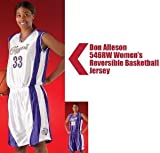 Don Alleson 546RW Women's Reversible Stock Uniform Basketball Jersey (Call 1-800-327-0074 to order)