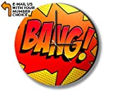 BANG Comic SFX Photo Clock