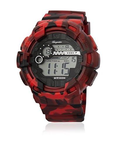 Burgmeister Reloj de cuarzo Halifax Rojo 51 mm