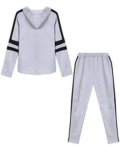 #ZEARO #Damen #Fitness #Pullover #Hose #Sportanzug #Jogginganzug #Hausanzug