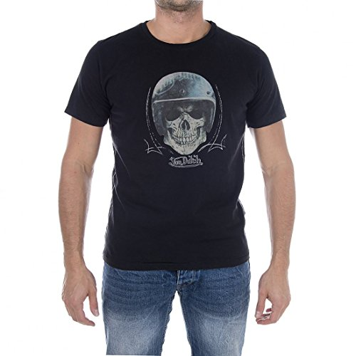 von-dutch-camiseta-cuello-redondo-manga-corta-para-hombre-negro-x-large